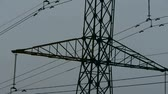 energy : High-voltage wire tower. Stock Footage