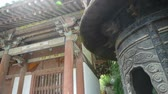 buddhista : China religion Inscriptions on censer iron tower,oriental elements temple.