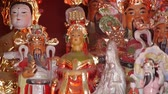 buddhista : Gorgeous statues.Chinese God sculpture of wealth.Matsu toy,Goddess of Mercy.