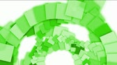 deformado : green square paper arch,computer tech web background.