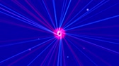 cinético : Electron dots nucleus background,tunnels passageways transport energy,hole focus stars space,science fiction quantum universe galaxy light,atomic ray laser lines backdrop.