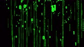 frontend : 4k The Matrix style binary code,falling number,Seamless loop.abstract future tech background.data digital display,future tech background.