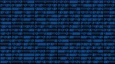 frontend : 4k The Matrix style binary code.Seamless loop.data digital display,abstract future tech background. Stock Footage