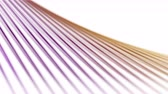 inclinado : 4k Abstract metal wire pipes tubes line stage,fiber machine probe background,music rhythm backdrop. Stock Footage