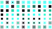 irradiar : 4k vj color square neon light array matrix scan background & cube grid big data database geometry modern shape backdrop.