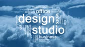 creativeness : Design Studio Animated Tag Word Cloud,Text Design Animation.
