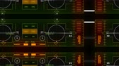 transmissor : 4k Radar GPS signal tech screen display,future science sci-fi data computer game navigation dashboard HUD technology interface background.