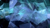 Polygons animated background 4k Vídeos