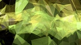 Polygons animated background 4k Wideo