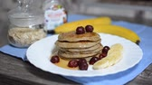 stack : Cooking delicious punkkas. Healthy lifestyle.
