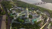 derű : Aerial view of Kiev-Pechersk Lavra Ukrainian Orthodox Monastery