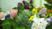 decorador : Set of flowers for the future bouquets
