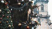 Československo : Xmas firtree at Old Town Square, Prague. Filmed on RED camera, 10 bit clolor Dostupné videozáznamy