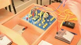 amper : Electric circuit on school physics equipment