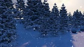 Snowy Forest Loop - funny animated motion graphics which represent movement through snowy forest with Christmas and New Year elements. It is perfect to use in your next Christmas or New Year videos, video blogs, parties, congratulations video cards or vj