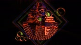 orbe : Cracked Pharaoh Bust VJ Loop - is a stunning ancient motion graphic illustration featuring ruler face with bright red eyes. Perfect to use in the ancient videos, Egypt graphics, thematic VJ sets, futuristic sceneries, movie trailers and much more! Vídeos