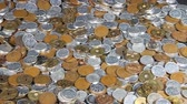 kapsa : A lot of  Japanese coins