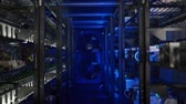 Server room for crypto currency mining.