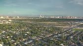 mortgage crisis : aerial shot of Las Vegas sprawl daytime  Stock Footage