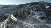 wealthy : aerial shot of deer Valley Utah