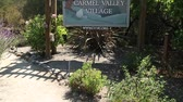 luksus : Carmel Valley Village California welcome sign