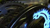 sklep : Metal bike parts gleaming in light