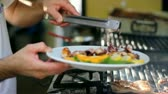 recipe : Delicious Seafood Meal. HD 1080i Stock Footage