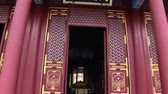 old metal texture : Chinese Temple Door Stock Footage