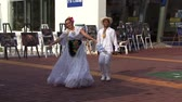 concentrando : Mexican People Dancing Stock Footage