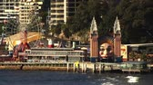 Theme park fair ground Sydney Harbour