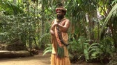 kultura : South Pacific Native Tribesman