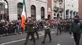 трилистник : St Patricks Day Dublin Military