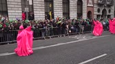 трилистник : St Patricks Day Dublin Parade Pink Tall Person
