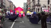 трилистник : St Patricks Day Parade Dublin Flowers Dancing