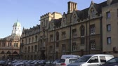 campus : Oxford University Stock Footage