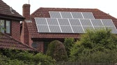 solar energy power : Solar Panel on a house