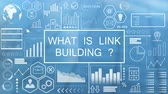 발표 : What is Link Building?, Animated Typography 무비클립