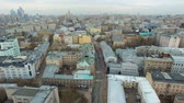 bem aventurado : The building of old Moscow Stock Footage
