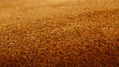 shabby : Old aged suede leather background. Coarse texture, gradient yellow brown beige, vivid colors.