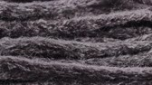 crochet : Woolen knitting closeup