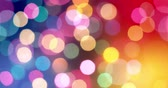 vibrante : 4K - Abstract blurred colorful lights background