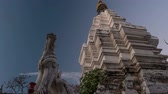 monastic : Sunset timelapse of a temple in Chiang Mai, Thailand