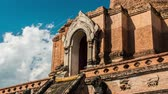 monastic : Day timelapse of a temple in Chiang Mai, Thailand