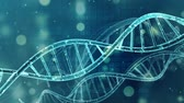клон : Medical background  DNA double helix Стоковые видеозаписи