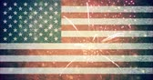 julho : 4th of july USA flag background