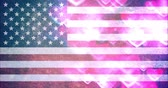 voto : 4th of july USA flag background