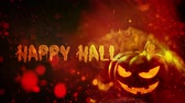 sopa : Happy Halloween haunted pumpkin background