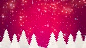 wintertime : Winter snowflakes falling Christmas background