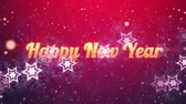 einladung : Happy New Year Hintergrund Videos