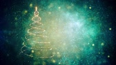 christmas tree ornament : Merry Christmas tree. Winter holidays background